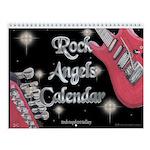 Rock Angels Wall Calendar