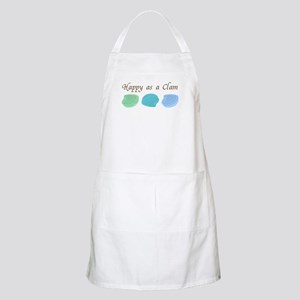 Happy as a Clam BBQ Apron