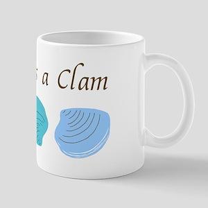Happy as a Clam Mug