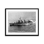 USS KNAPP Framed Panel Print