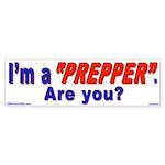 Prepper (Bumper Sticker 10 pk)