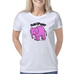 Pink Elephant Women's Classic T-Shirt