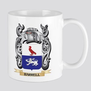 Barrell Family Crest - Barrell Coat of Arms Mugs