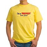 Prepper Yellow T-Shirt