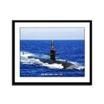 USS KEY WEST Framed Panel Print