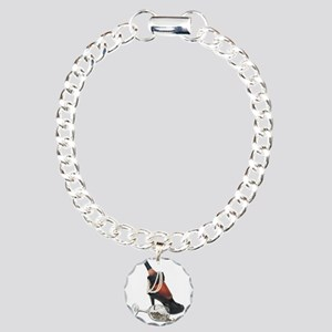 Wine Bottle Heels Pearls and Charm Bracelet, One C