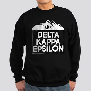 Delta Kappa Epsilon Mountains Sweatshirt (dark)