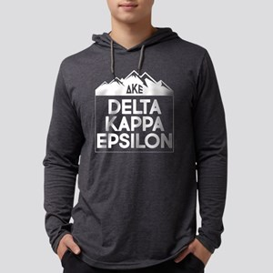 Delta Kappa Epsilon Mountains Mens Hooded T-Shirts