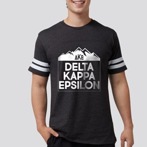 Delta Kappa Epsilon Mountai Mens Football T-Shirts