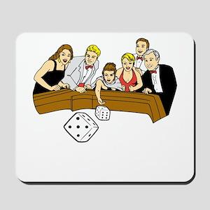 Craps Table Mousepad