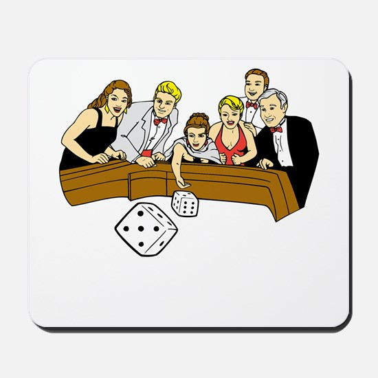 Craps Table Mousepad
