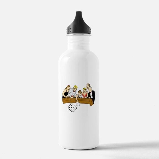 Craps Table Water Bottle