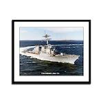 USS LABOON Framed Panel Print