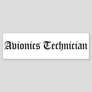 Avionics Technician Bumper Sticker