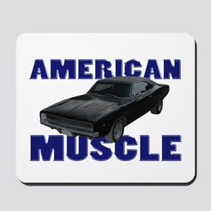 1968 Dodge Charger Blue Mousepad