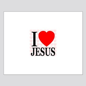 I Love Jesus First Edition Small Poster