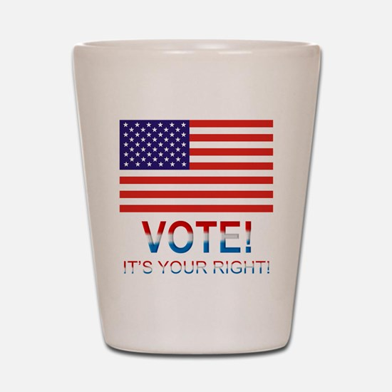 Vote Shot Glass