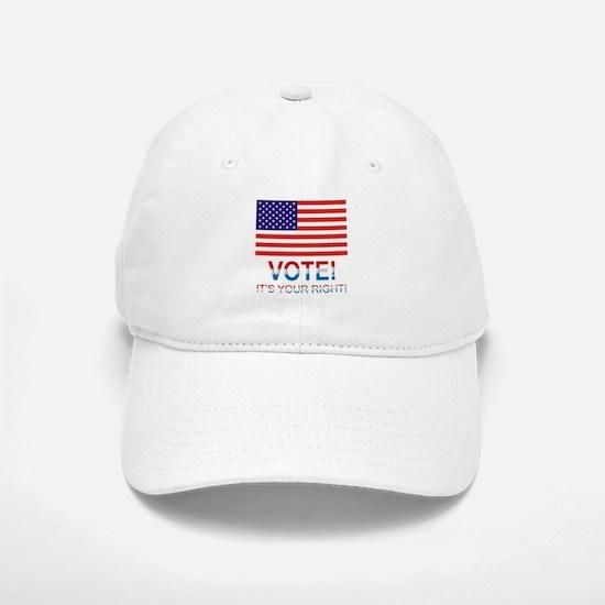 Vote Baseball Baseball Cap