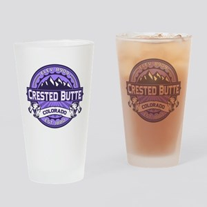 Crested Butte Violet Drinking Glass