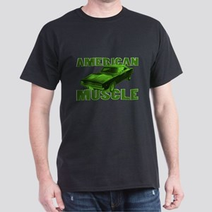 1968 Dodge Charger Lime Dark T-Shirt