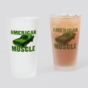1968 Dodge Charger Lime Drinking Glass
