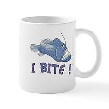 Piranha - I Bite! (blue) Mug