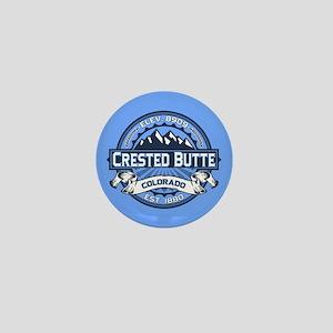 Crested Butte Blue Mini Button