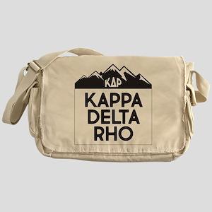 Kappa Delta Rho Mountains Messenger Bag