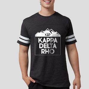 Kappa Delta Rho Mountains Mens Football T-Shirts