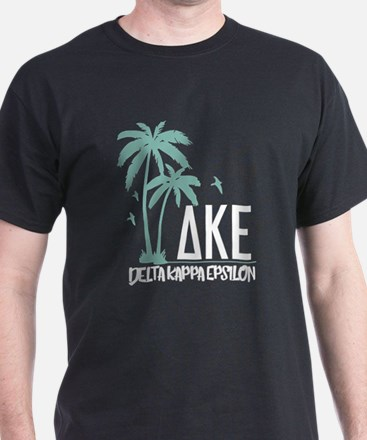 Delta Kappa Epsilon Palm Trees T-Shirt