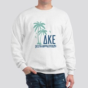 Delta Kappa Epsilon Palm Trees Sweatshirt