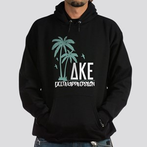 Delta Kappa Epsilon Palm Trees Hoodie (dark)
