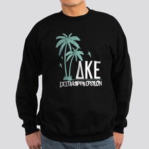 Delta Kappa Epsilon Palm Trees Sweatshirt (dark)