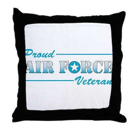 Proud Veteran Throw Pillow