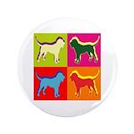 Bloodhound Silhouette Pop Art 3.5