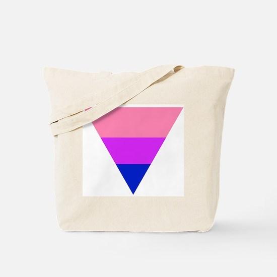 bi triangle Tote Bag