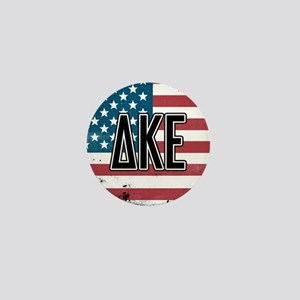 Delta Kappa Epsilon Flag Mini Button