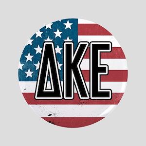 Delta Kappa Epsilon Flag Button