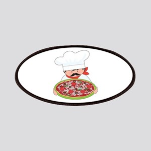 Chef and Pizza Patches