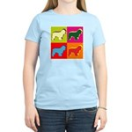 Cocker Spaniel Pop Art Women's Light T-Shirt
