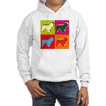 Cocker Spaniel Pop Art Hooded Sweatshirt