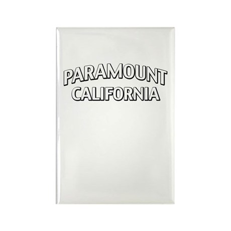 Paramount California Rectangle Magnet