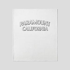 Paramount California Throw Blanket