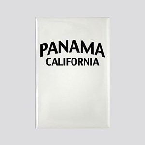 Panama California Rectangle Magnet