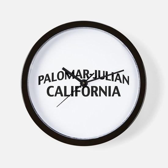 Palomar-Julian California Wall Clock