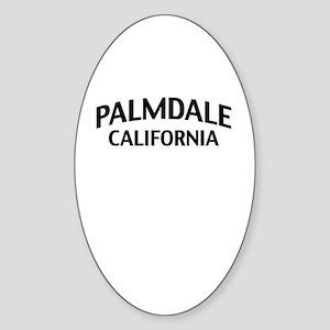 Palmdale California Sticker (Oval)