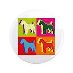 Fox Terrier Silhouette Pop Art 3.5