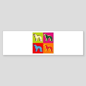 Irish Setter Silhouette Pop Art Sticker (Bumper)