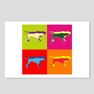 Pointer Silhouette Pop Art Postcards (Package of 8