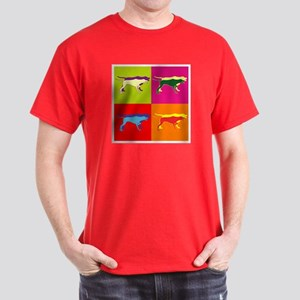 Pointer Silhouette Pop Art Dark T-Shirt